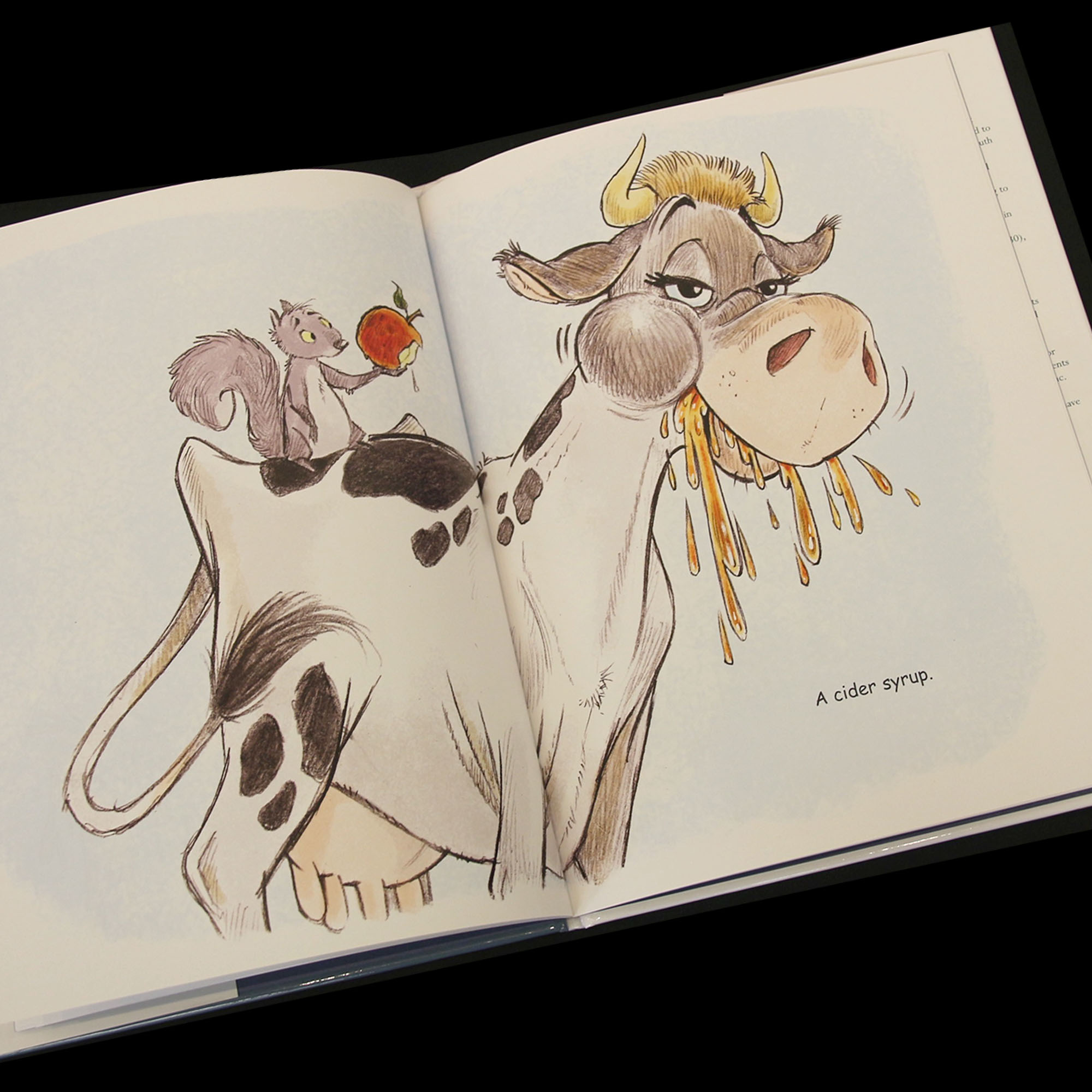 the cow in apple time robert frost