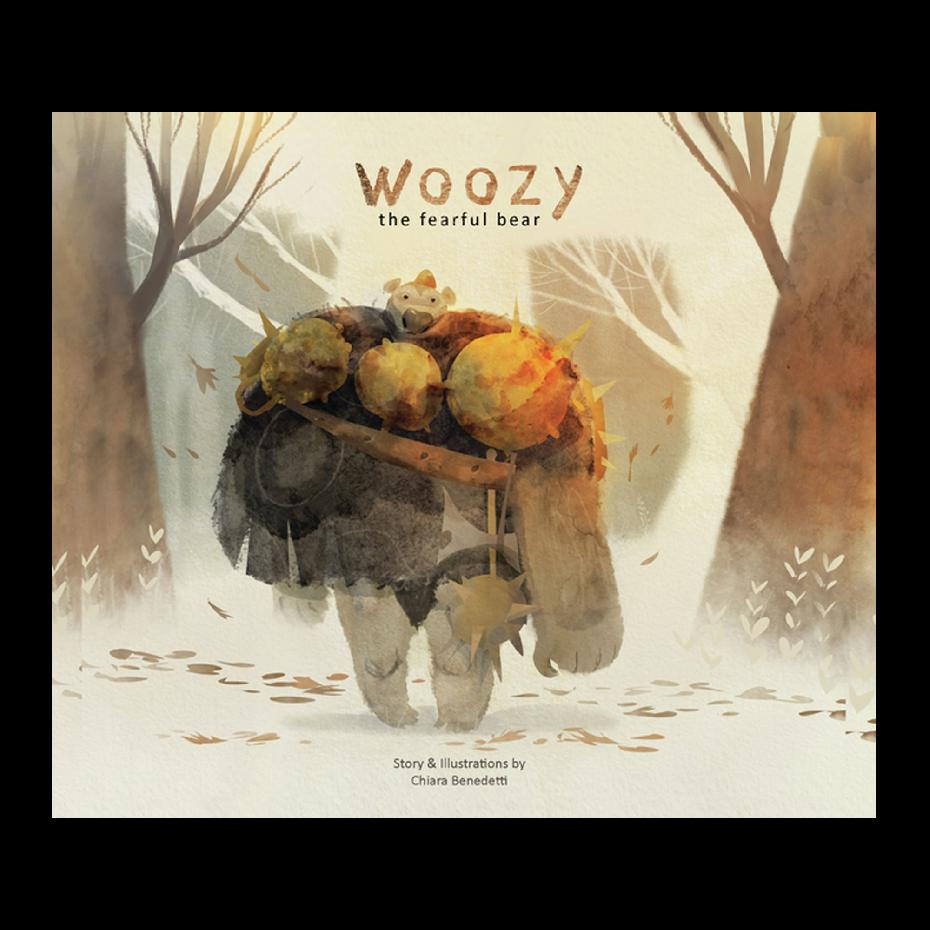 Woozy the Fearful Bear (Paperback)