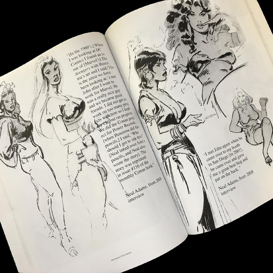 John Buscema, A Life in Sketches