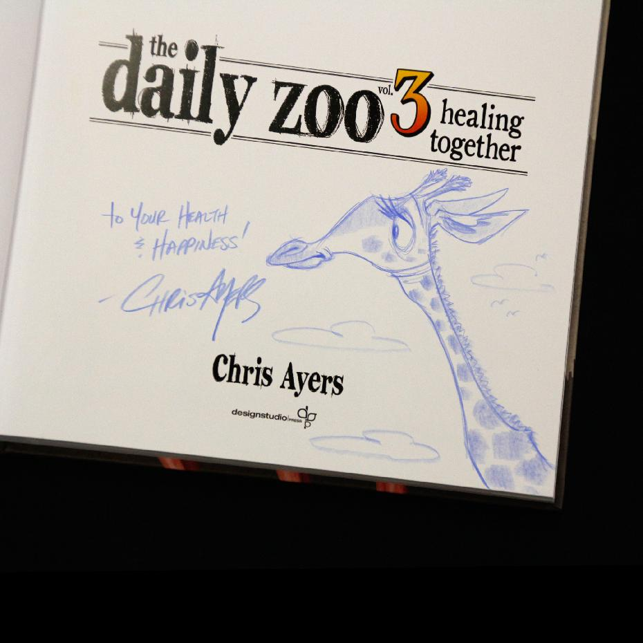 The Daily Zoo vol. 3 (Hardcover)