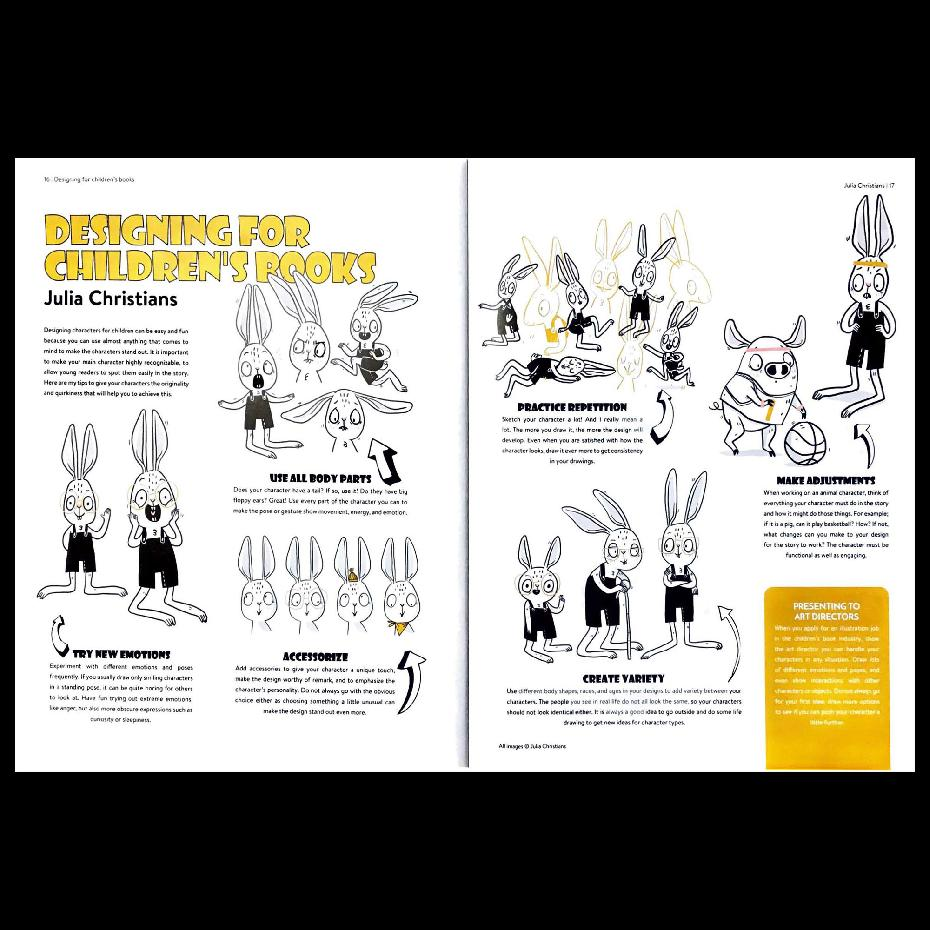 Character Design Quarterly 6