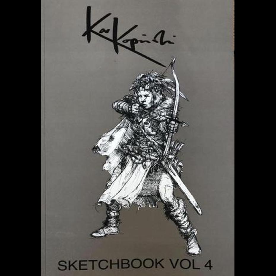 Karl Kopinski Sketchbook Vol. 4