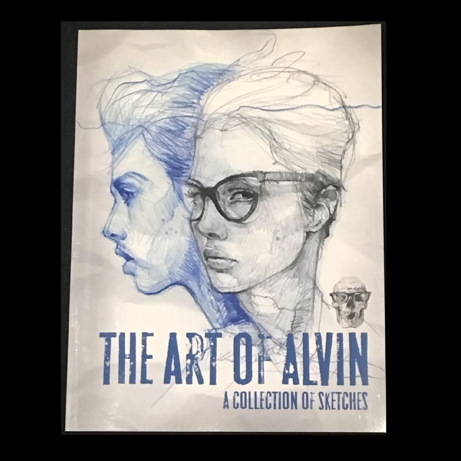 The Art of Alvin: A Collection of Sketches