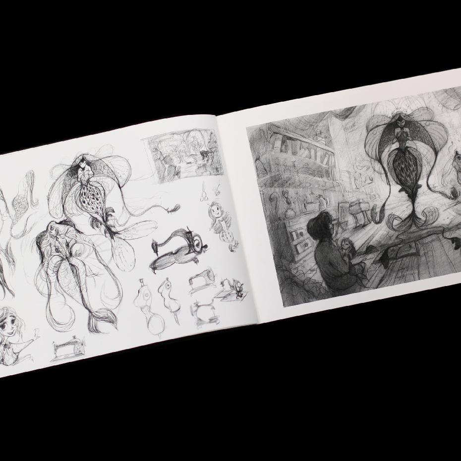 And Then There Were Monsters: A Collaborative Sketchbook