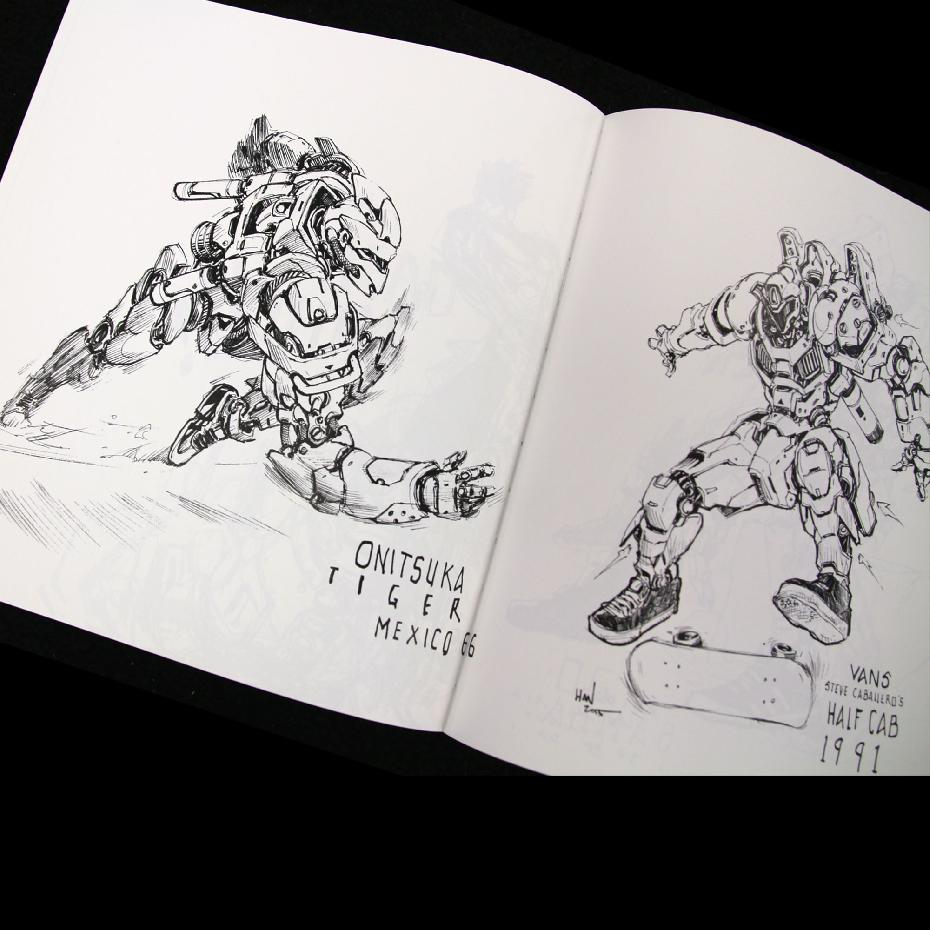 The Sketchbook of Peter Han 2014-2015