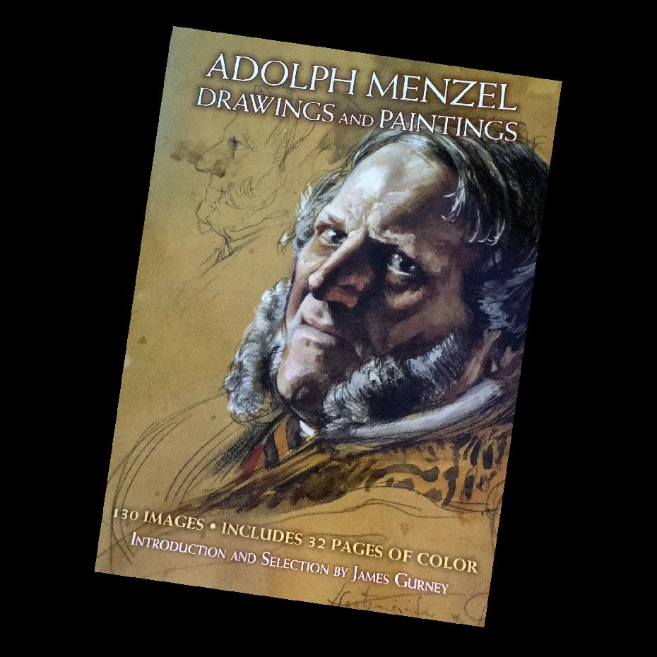Adolph Menzel Drawings and Paintings