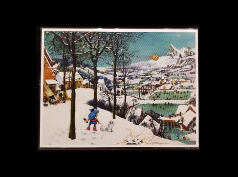 Hilda in the Snow (After Peter Bruegel the Elder) (Unframed)