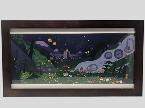 Hilda Valley (Framed)