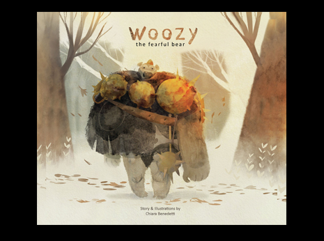 Woozy the Fearful Bear (Hardcover)